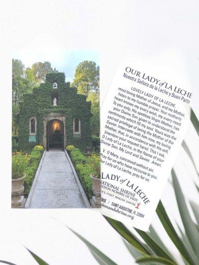 Chapel Prayer Card English