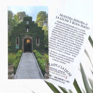 Chapel Prayer Card Spanish